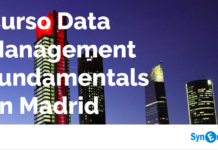 Curso Data Mangement Fundamentals en Madrid